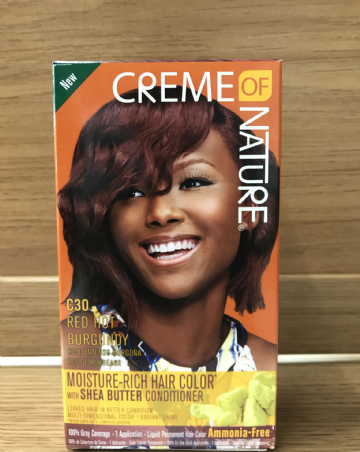 Creme of Nature Moisture-Rich Hair Colour C30 Red Hot Burgundy